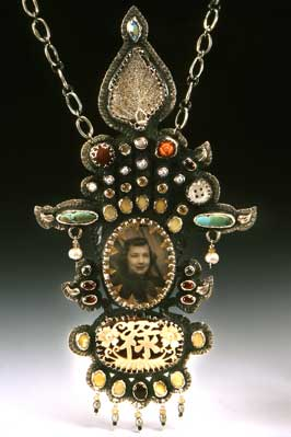 Carolyn Rae Smith Diener's Travels: Personal and Geographic: Necklace with Handmade Chain